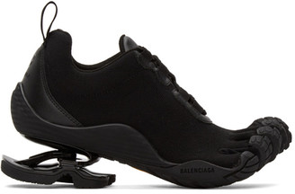 Balenciaga Black Finger Toe Low-Top Sneakers