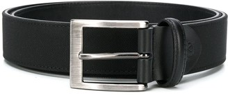 Canali Textured Leather Belt