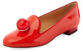Charlotte Olympia Eames Patent Leather Smoking Slipper