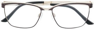 Cazal Rectangle Frame Glasses