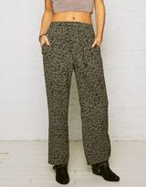 American Eagle Outfitters Don't Ask Why Wide Leg Chiffon Pant