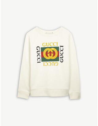 Gucci GG-print cotton sweatshirt 4-12 years
