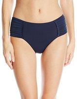 Seafolly Women's Core Pleated Retro Bikini Bottom