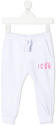 DSQUARED2 ICON print sweatpants
