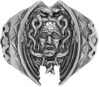 Yohji Yamamoto Silver Medusa Ring
