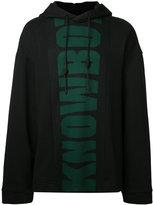 Juun.J print front hoodie