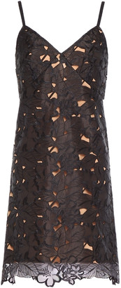 MICHAEL Michael Kors Embroidered Organza Mini Dress