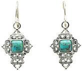 Barse Sterling Silver & Turquoise Cross Earrings