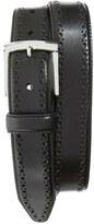 Johnston & Murphy Men's Perforated Leather Belt