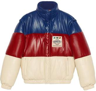 Gucci Detachable Sleeves Padded Jacket