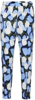 Dries Van Noten Printed high-rise straight pants