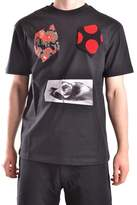 McQ Men's Black Cotton T-shirt.