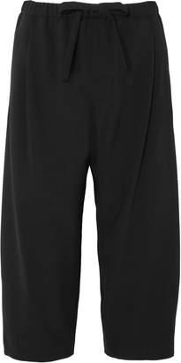 Michael Kors Cropped Wool Straight-leg Pants
