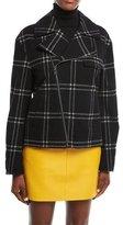 Ralph Lauren Windowpane Zip-Front Jacket