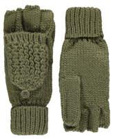 George Chunky Knit Flip Mittens