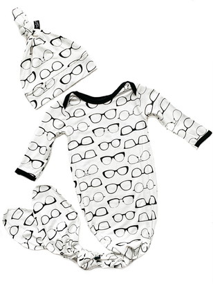 Peregrine Kidswear Glasses Gown & Hat Set