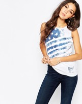 Pepe Jeans American Flag Tank Top