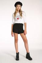 ONA SAEZ KIDS Black Shorts