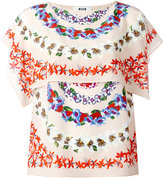 MSGM floral print blouse - women - Silk/Polyester - 38