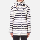 Barbour Women's Stripe Trevose Jacket Navy/White