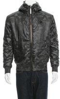 Philipp Plein 2015 Faux Fur-Trimmed Jacket w/ Tags