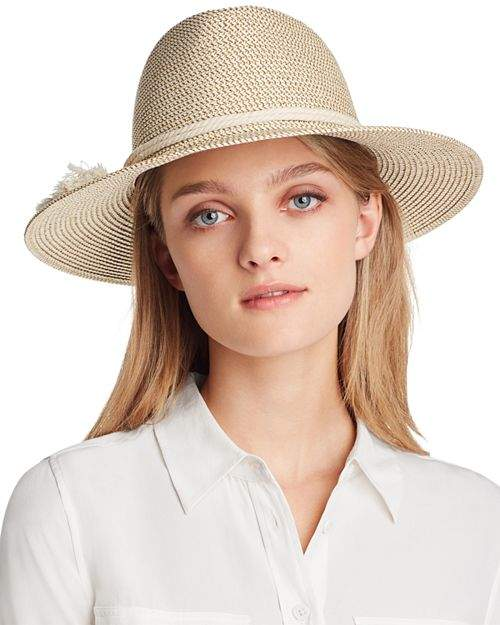 bb1db6e794f2b7 White Band Straw Hat - ShopStyle