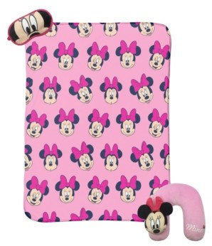 Disney Minnie Mouse 3-Piece Travel Set Bedding