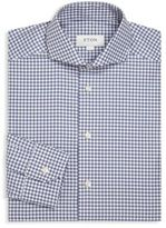 Eton Checked Long Sleeve Cotton Shirt