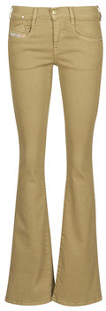 Diesel EBBEY women's Bootcut Jeans in Beige