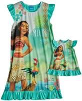 Disney Disney's Moana Dorm Nightgown & Doll Nightgown Set