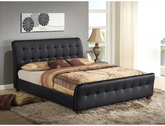 James Upholstered Sleigh Bed Glory Furniture Size: Full