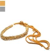 Victorian Hippie Crystal Wrap Headband/belt
