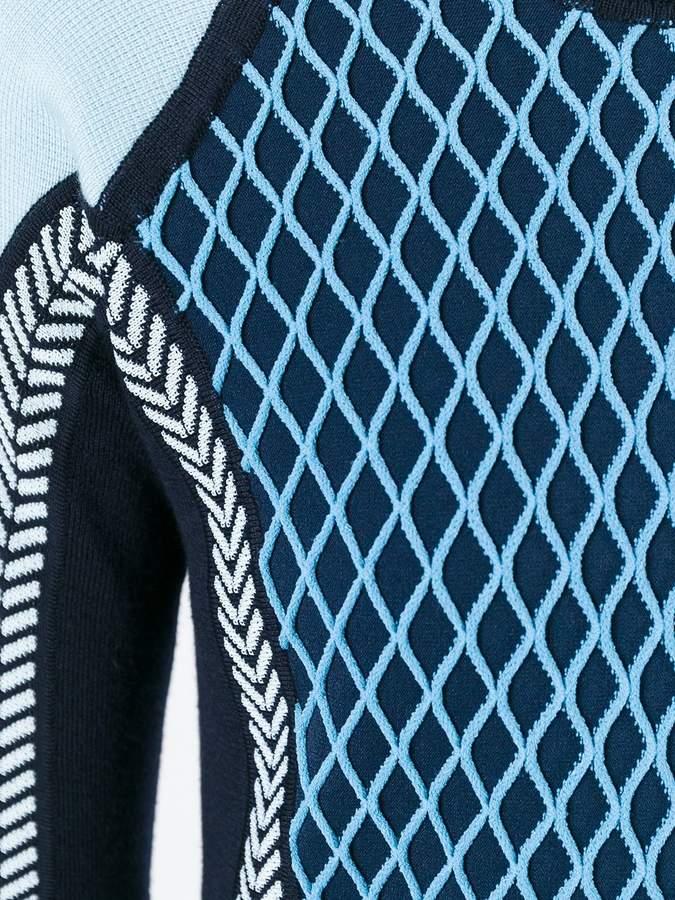 Versace runway knit sport dress