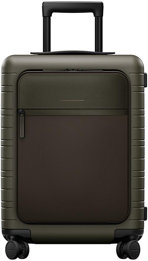 Horizn Studios M5 Smart Hard Shell Cabin Suitcase - Dark Olive