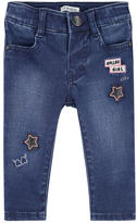 Ikks Girl skinny fit jeans with patches