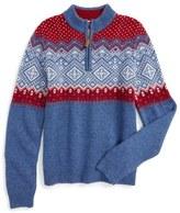 Vineyard Vines Holiday Intarsia Sweater (Big Boys)