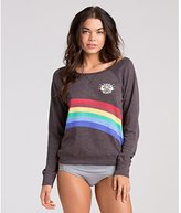 Billabong Junior's All Over French Terry Sweatshirt