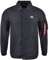 Alpha Industries TT Coach Jacket Blue
