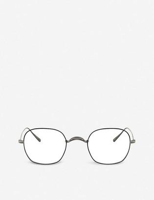 Oliver Peoples OV1270T Carles metal square-frame glasses