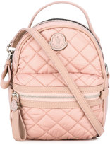 Moncler backpack style cross body bag - women - Lamb Skin/Polyamide/Polyester - One Size