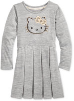 Hello Kitty Embroidered Hacci Dress, Toddler Girls & Little Girls (T2-6X)