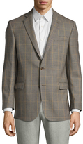 Brooks Brothers Wool Plaid Print Sportcoat