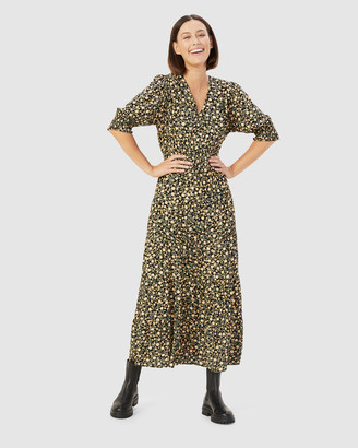 French Connection Women's Dresses - Stamped Floral Midi Dress - Size One Size, 14 at The Iconic