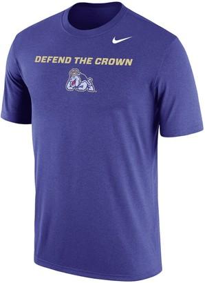 Nike Men's Purple James Madison Dukes Local Phrase Performance T-Shirt