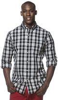 Chaps Men's Large Plaid Button-Down Shirt