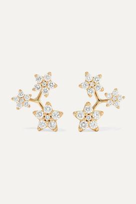OLE LYNGGAARD COPENHAGEN 18-karat Gold Diamond Earrings - one size