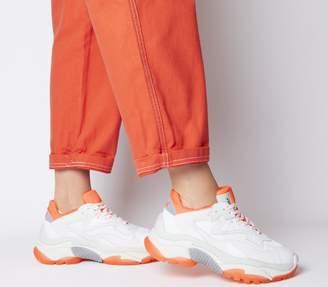 Ash Addict Trainers White Orange