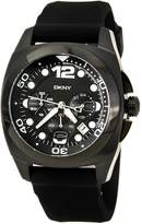 DKNY Men's NY1445 Rubber Quartz Watch with Dial