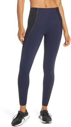 Spanx Mesh Contour Active Leggings