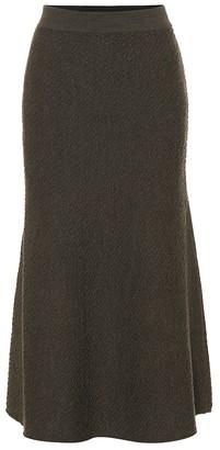 Victoria Beckham Wool knit midi skirt